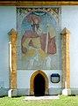 Finkenstein am Faaker See Faak Filialkirche hl. Georg Christopherus-Fresko 31052008 03.jpg
