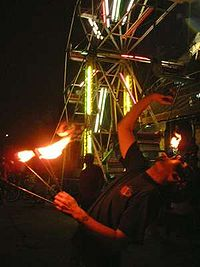 Fire eating - Wikipedia, the free encyclopedia