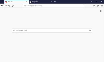 Firefox 57 in WIndows 10