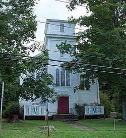First Congregational Church of Otto Aug 10.JPG
