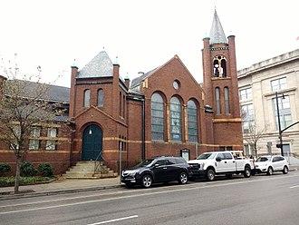 First Presbyterian Church (Raleigh, North Carolina) - Image: First Presbyterian Church in Raleigh 1