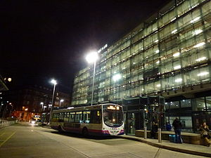 Shudehill Interchange - Bus station