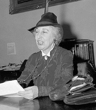Jeannette Rankin - Rankin in 1939, arguing against fortification of Guam before the House Naval Affairs Committee