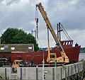 Fishing Vessel Under Construction - Barton Waterside - geograph.org.uk - 927758.jpg