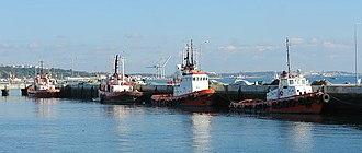 Fishing in Portugal - Fishing harbour in Setúbal.