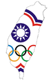 Flag map of Chinese Taipei for Olympic games.png