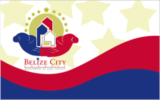 Belize City - Image: Flag of Belize City