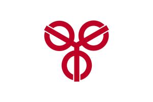 Sōka - Image: Flag of Soka, Saitama