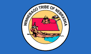 Flag of the Winnebago Tribe of Nebraska.PNG