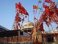 Flags at Kaila Devi Karauli Rajasthan - panoramio.jpg