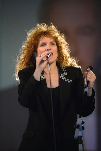 Nurit Galron - Image: Flickr Government Press Office (GPO) SINGER NURIT GALRON PERFORMING AT A MEMORIAL SERVICE HELD FOR PM YITZHAK RABIN