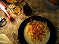 Flickr - cyclonebill - Fettucine med laks i tomat-flødesauce.jpg