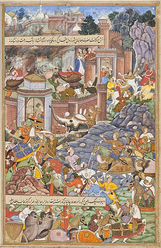 Bahadur Shah of Gujarat - The Mughal Emperor Humayun, fights Bahadur Shah of Gujarat, in the year 1535.
