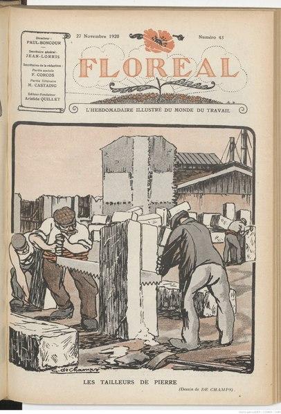 File:Floréal (Journal hebdomadaire) du 27 novembre 1920.djvu