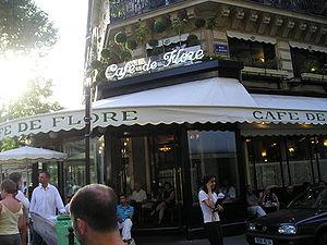 Boulevard Saint-Germain - Le Café de Flore