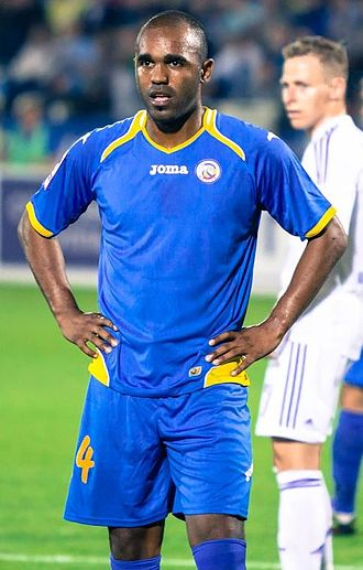 Florent Sinama Pongolle - Sinama Pongolle playing for Rostov in 2012