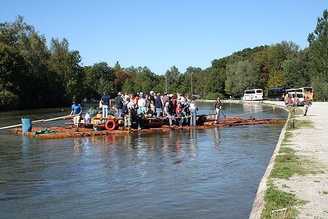 Floßlände Thalkirchen