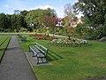Flower beds in Alexandra Park, Hoole - geograph.org.uk - 993019.jpg