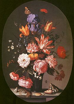 Flowers in a Glass Vase.jpg