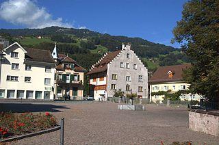Flums Place in St. Gallen, Switzerland