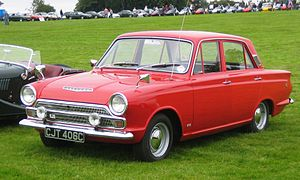 Ford of Europe - 1965 Ford Cortina Mark I