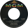 Forget Domani by Connie Francis US vinyl single.png
