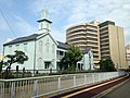 Former Dejima Protestant Seminary and Headquarters of the Eighteenth Bank.JPG