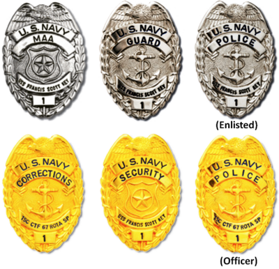 Former Navy Law Enforcement Badges.png