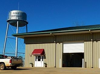 Fort Deposit, Alabama - Image: Fort Deposit, Alabama Fire Department