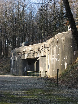 Fortified Sector of Haguenau - Munitions entrance, Ouvrage Schoenenbourg
