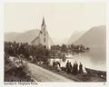 Fotografi av Helgheim Kirke. Söndfjord, Norge - Hallwylska museet - 105700.tif