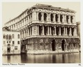 Fotografi av Venezia. Palazzo Pesaro - Hallwylska museet - 104925.tif