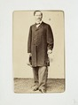 Fotografiporträtt på Theodor von Hallwyl, 1830-1860 - Hallwylska museet - 107585.tif