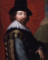 anonymous: Francis Bacon, 1st Viscount St Alban