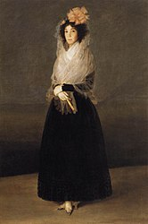 Francisco Goya: The Countess del Carpio, Marquesa de La Solana