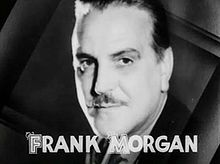 Frank Morgan en 1933 en a pelicula Broadway to Hollywood.