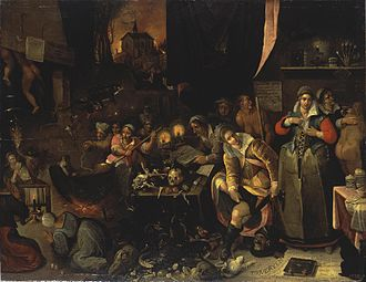Frans Francken the Younger - Witches' Kitchen