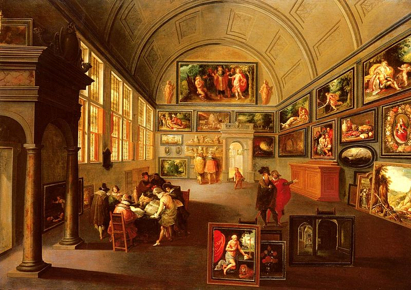 File:Frans II Francken The interior of a picture gallery.jpg