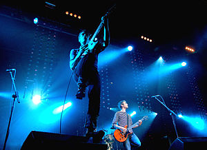 Franz Ferdinand (band) - Franz Ferdinand performing live in Dundee, Scotland in 2006.