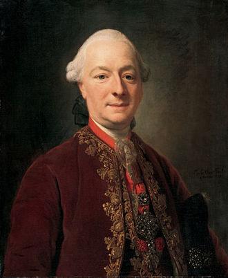 Franz Joseph I, Prince of Liechtenstein - Franz Josef I as Knight of the Austrian Golden Fleece