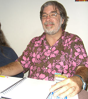 Fred Hembeck - Fred Hembeck at the November 2008 Big Apple Con in Manhattan