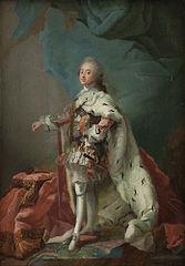 King Frederik V of Denmark in Anointing Robes