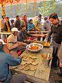 Free Food Distribution - Gangasagar Fair Transit Camp - Kolkata 2012-01-14 0616.JPG
