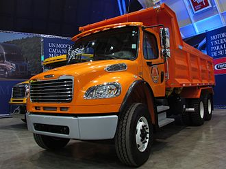 Truck - Freightliner M2 dump truck