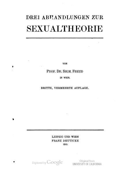 File:Freud - Drei Abhandlungen zur Sexualtheorie.djvu