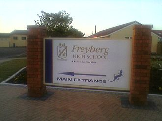 Freyberg High School - Main entrance to Freyberg High School