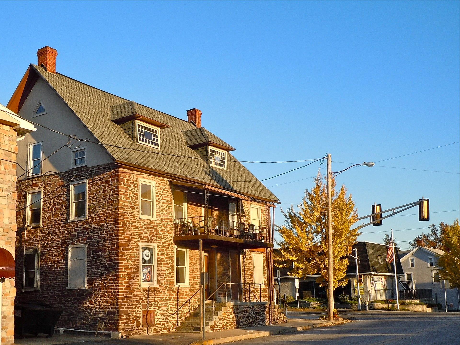 Free Front Elevation Images : Souderton pennsylvania wikipedia