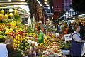 Fruit stall at Barcelona market (2929343065).jpg