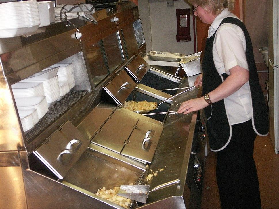 Frying range