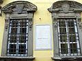 Fucecchio, municipio 05 finestre e targa giuseppe montanelli.JPG